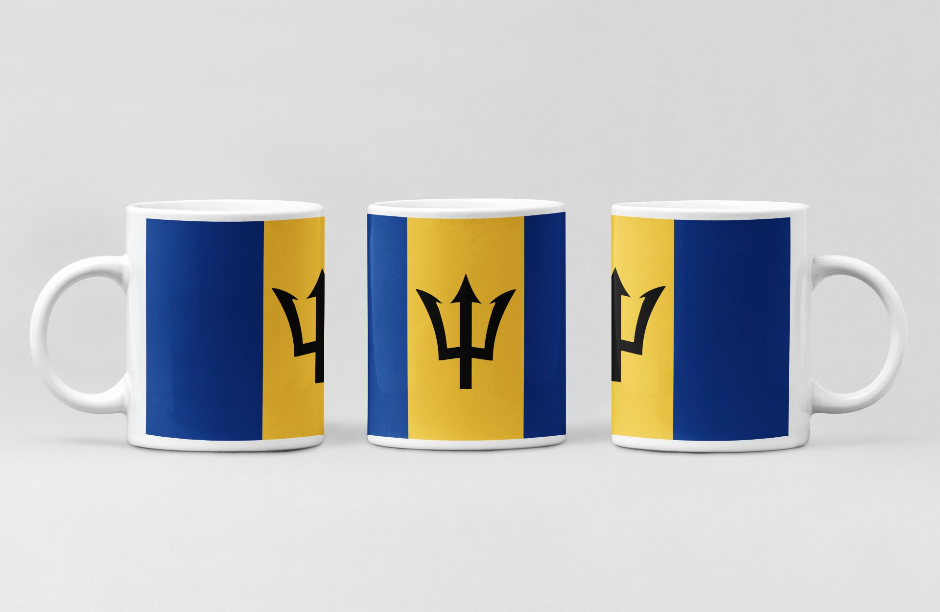 Barbados Flag Coffee Mug Barbados Country National Flag Mug Zifit Com All You Need