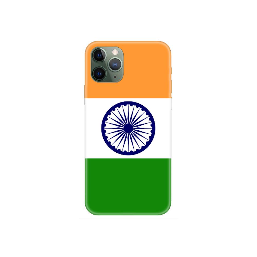 Coque iPhone Drapeau de l'Inde, Coque iPhone 11 Pro Max avec drapeau national de l'Inde