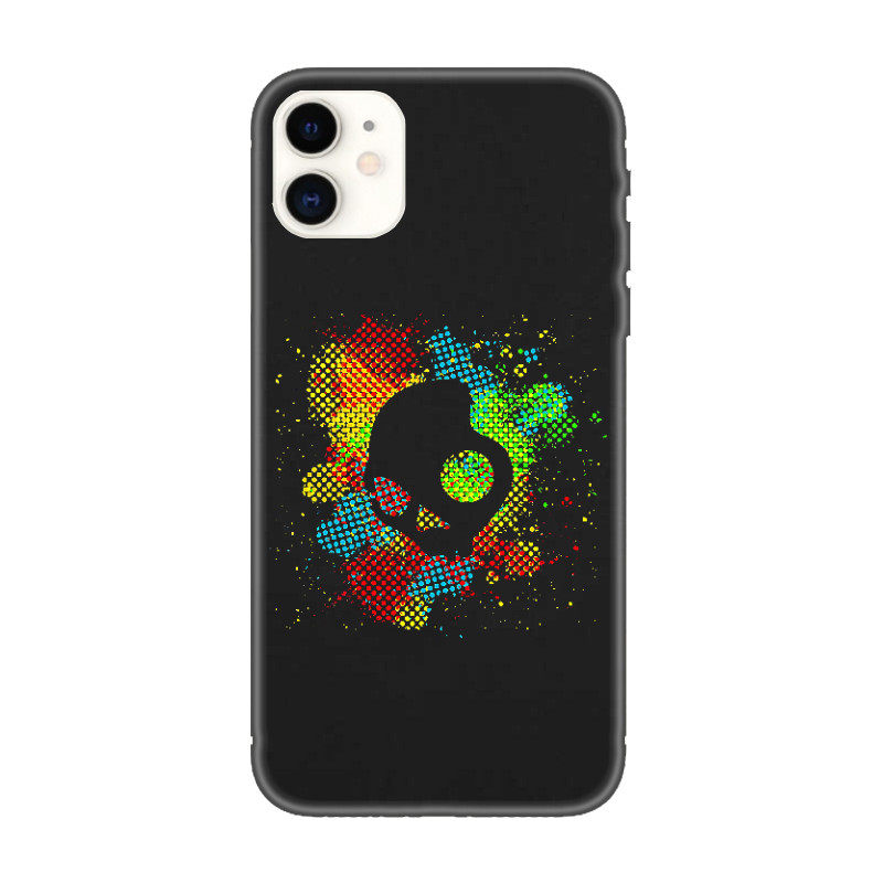 Coque iPhone Crâne Funky, Coque iPhone 11 Illustration Funky Skull
