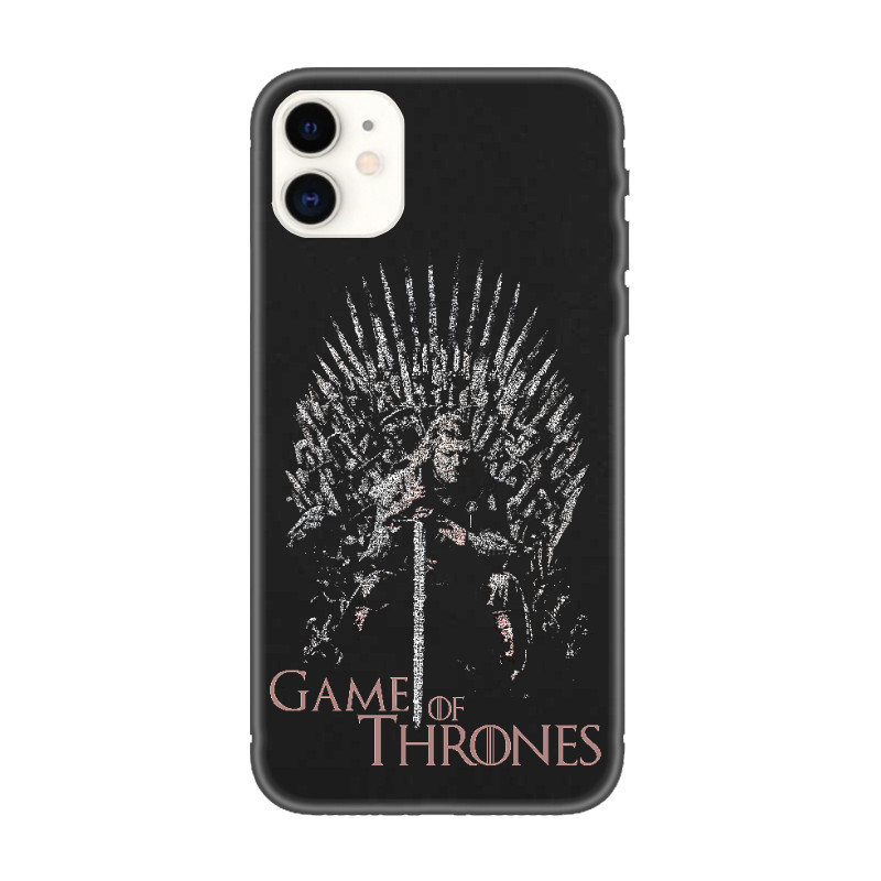 Coque iPhone Game of Thrones, oeuvre d'art Game of Thrones pour iPhone 11