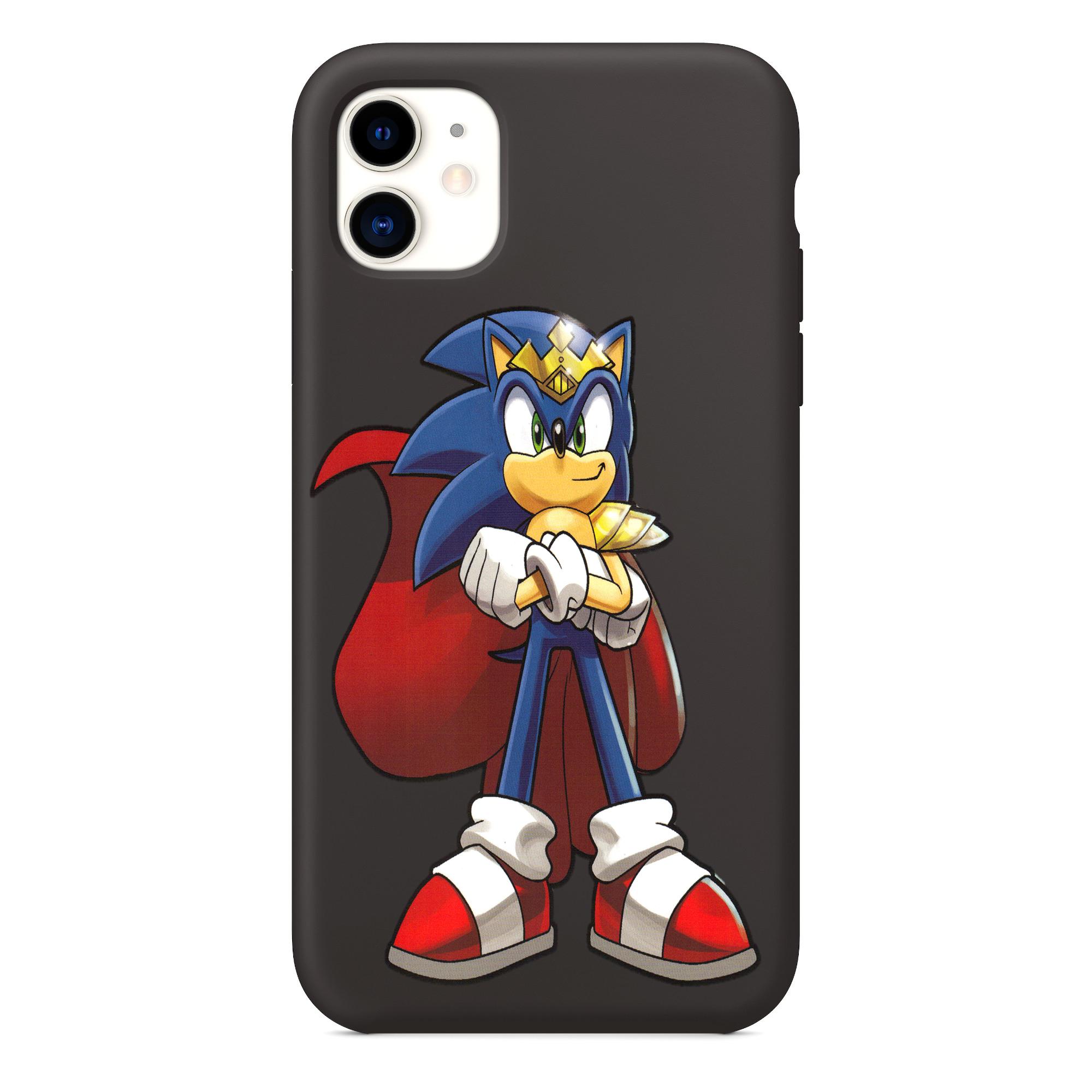Custodia per iPhone Sonic X, custodia per telefono Sonic X per iPhone 11
