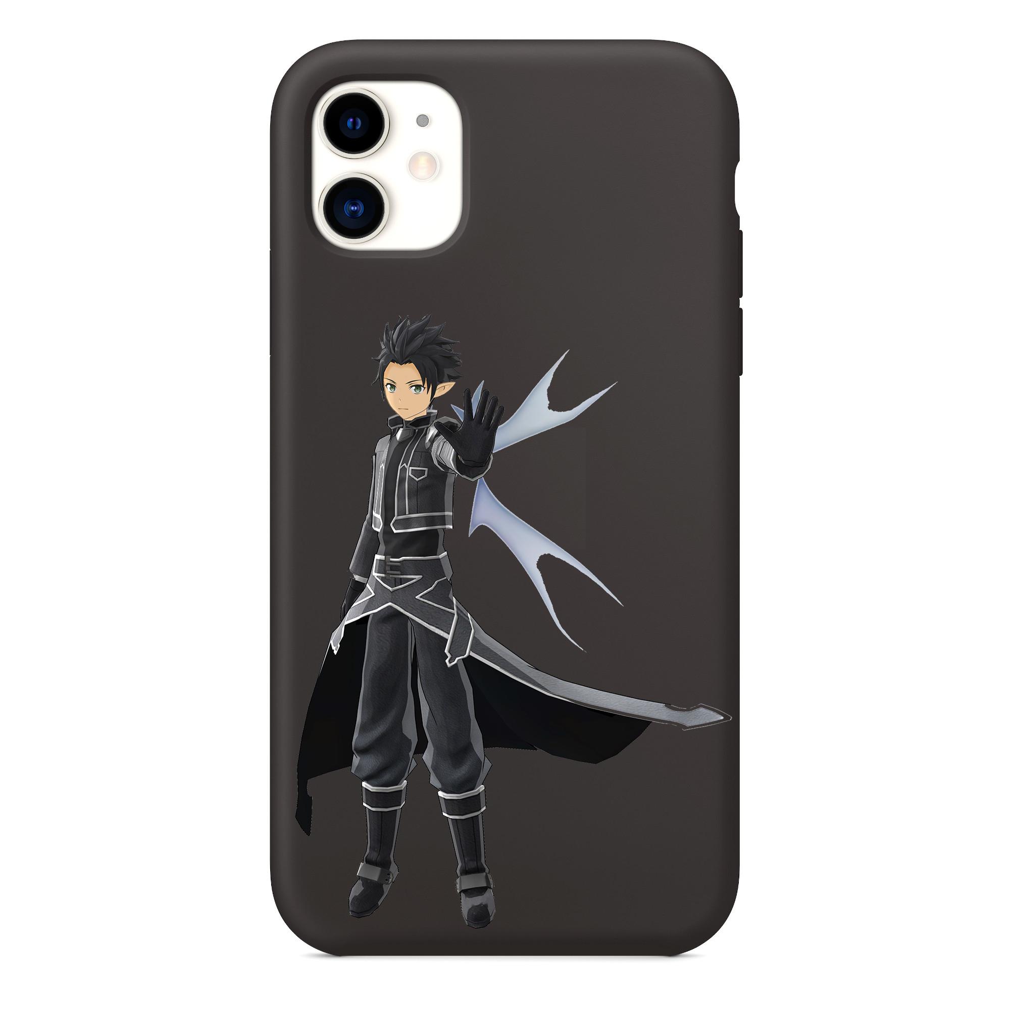 Sword Art Online Coque iPhone, Sword Art Online Artwork Anime iPhone 11 Coque de téléphone